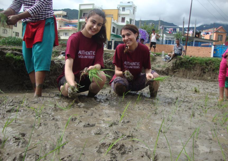 Authentic Volunteers, Volunteer in Nepal